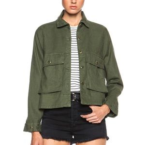 THE GREAT. Jackets & Coats - NWT The GREAT. Swingy Army Jacket